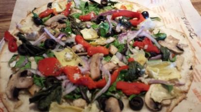 Blaze Gluten-Free Vegetarian Pizza 1