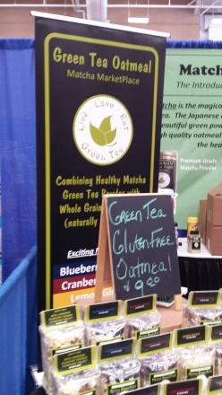 Green Tea Oatmeal