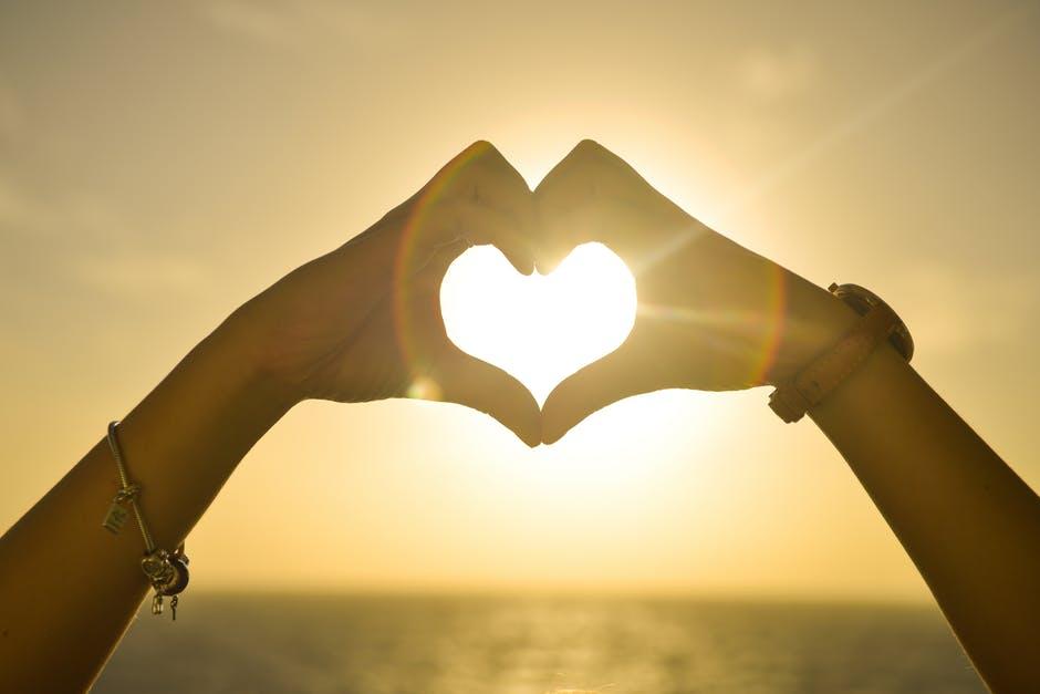 sunset-hands-love-woman