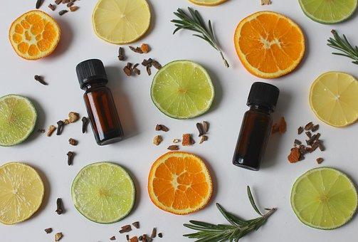 orange lime essential oils