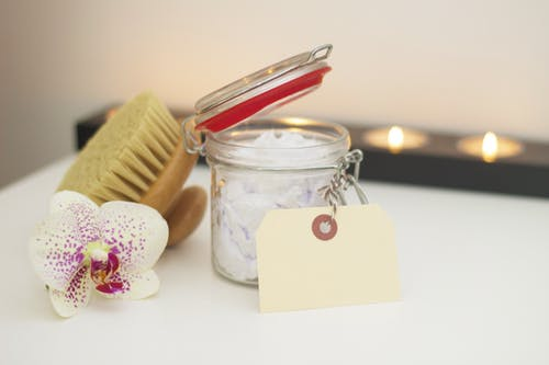 dry brush epsom salt